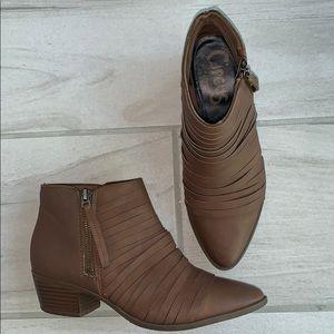 Circus brown booties